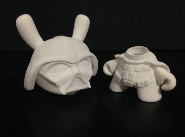 Darkside Bunny 3d printed