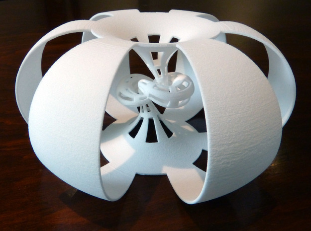 Figure 8 knot complement 3d printed