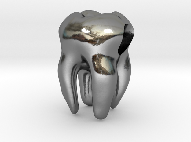 Tooth Charm / Pendant 3d printed