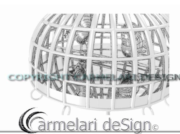 ciondolo gabbia 3d printed