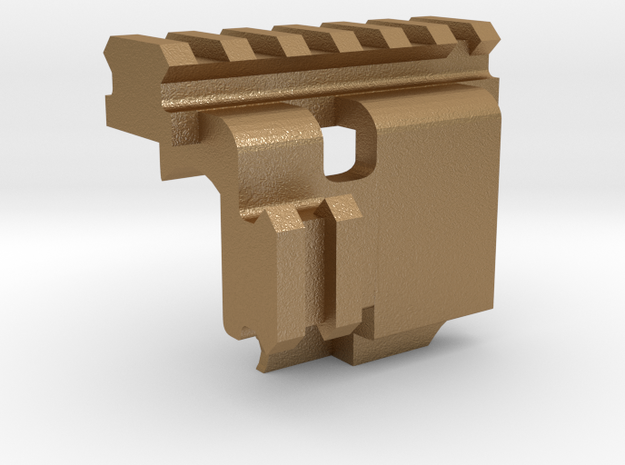 WE Luger P08 Picantinny Rails (Airsoft) 3d printed