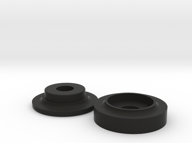 Covertec Knob in Black Strong & Flexible
