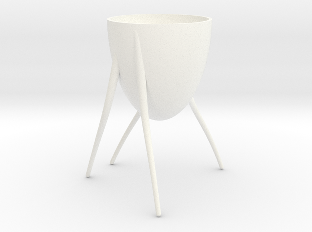 STRYDER CUP in White Processed Versatile Plastic