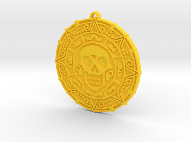 Doubloon in Yellow Strong & Flexible Polished