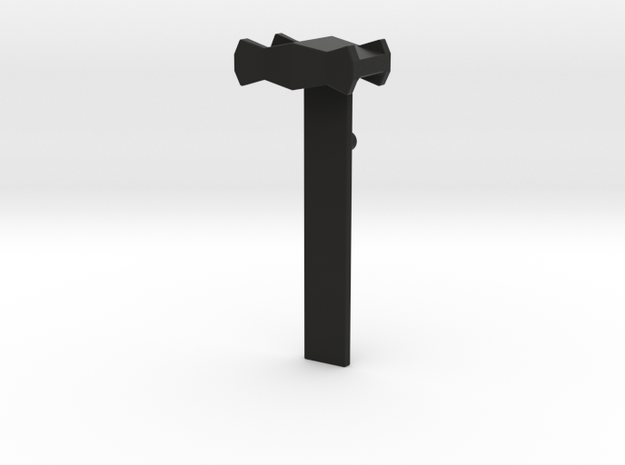 Tripod Clamp  in Black Natural Versatile Plastic