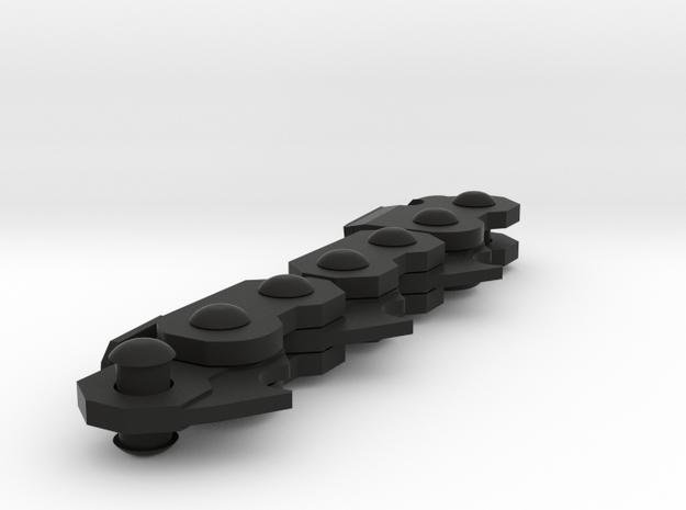 Chain in Black Natural Versatile Plastic