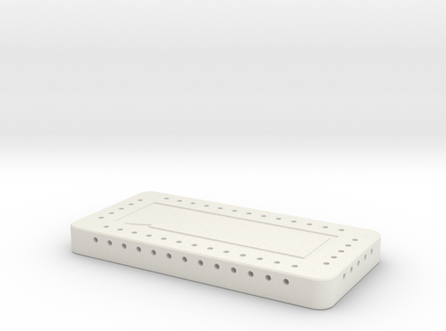 APT Storage 36 Hole in White Natural Versatile Plastic
