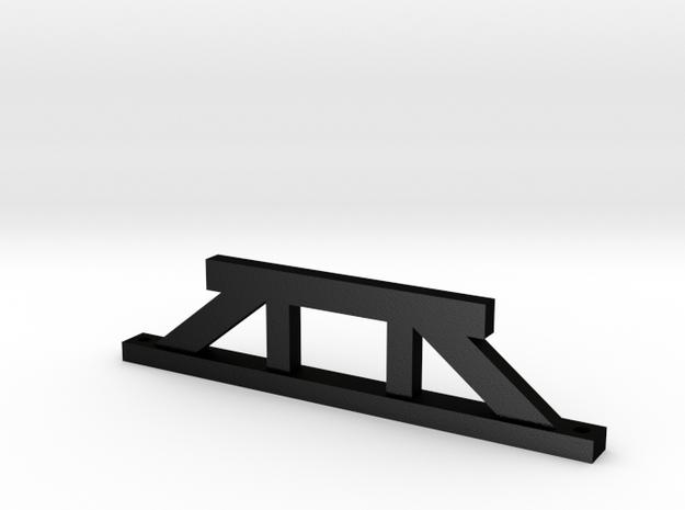 Victorian Railways inspection pit pier 3d printed
