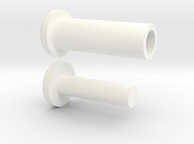 VENOM Thunderball turret plugs. (5 of 8) in White Processed Versatile Plastic