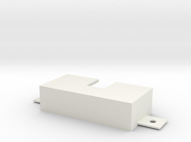 IPASS Bracket in White Natural Versatile Plastic