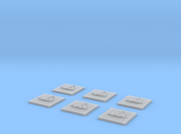 """Tau """"Manta"""" Bombers (6) 3d printed"""