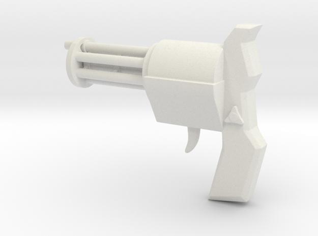 El Tiburon's Complex Shooter in White Natural Versatile Plastic