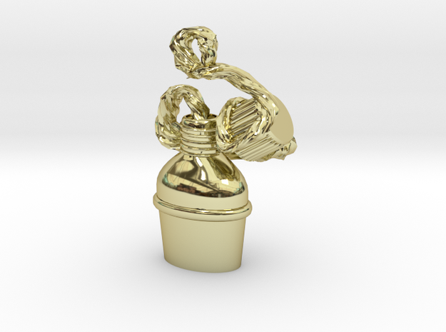Water bottle in 18k Gold