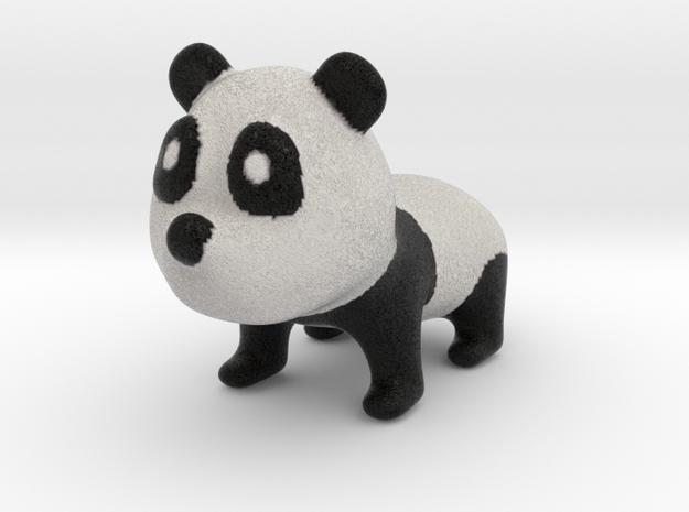 Little Panda in Full Color Sandstone