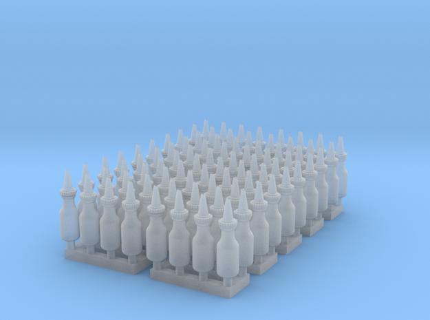 1:48 Quart Oil Bottles 80ea in Smooth Fine Detail Plastic