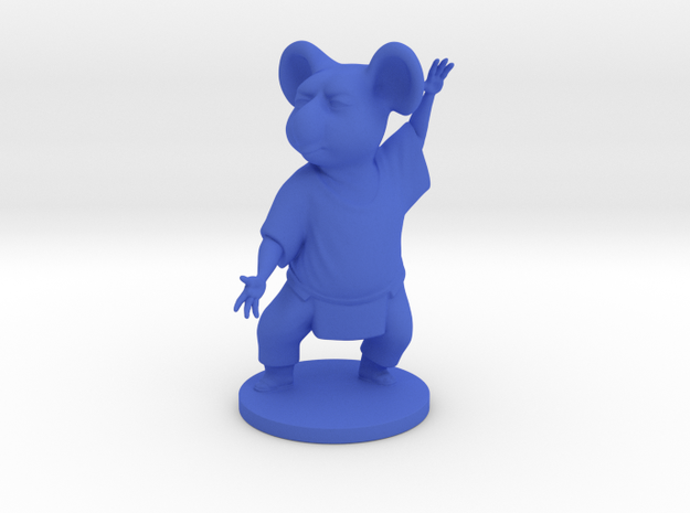 Koala Model in Blue Processed Versatile Plastic
