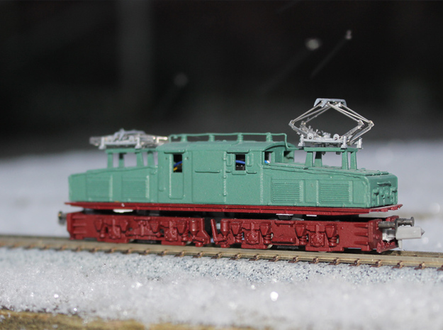 "LEW EL2 ""N"" scale (Bottom part 2-2)"