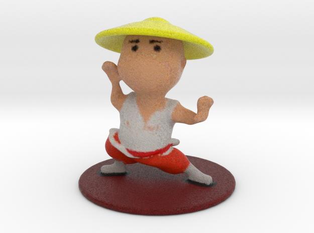 Shaolin Monk in Full Color Sandstone
