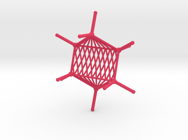Cyclohexane Hammock in Pink Processed Versatile Plastic
