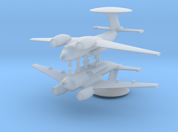 1/600 Antonov An-71 MADCAP (x2) in Smooth Fine Detail Plastic