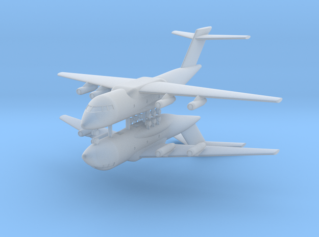 1/600 Xian Y-20 (x2) in Smooth Fine Detail Plastic