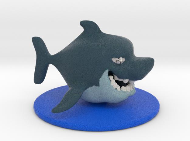 Little Shark in Full Color Sandstone