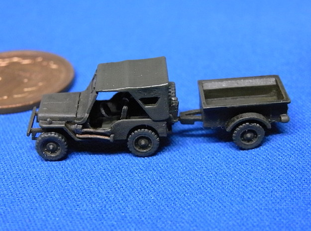 1/144 Willis MB with cargo 3d printed
