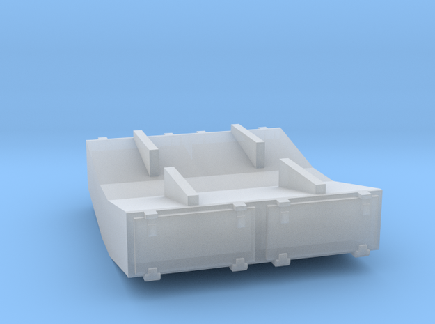 PRR 1½ ton Ice Bunker/Sump (1/160) in Frosted Ultra Detail