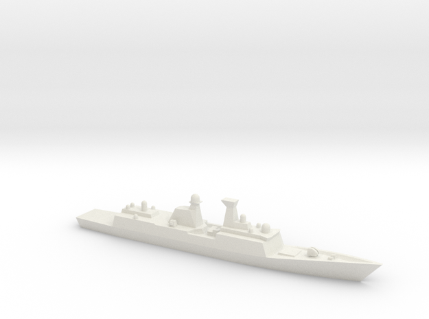 Type 054A 1/3000 in White Natural Versatile Plastic