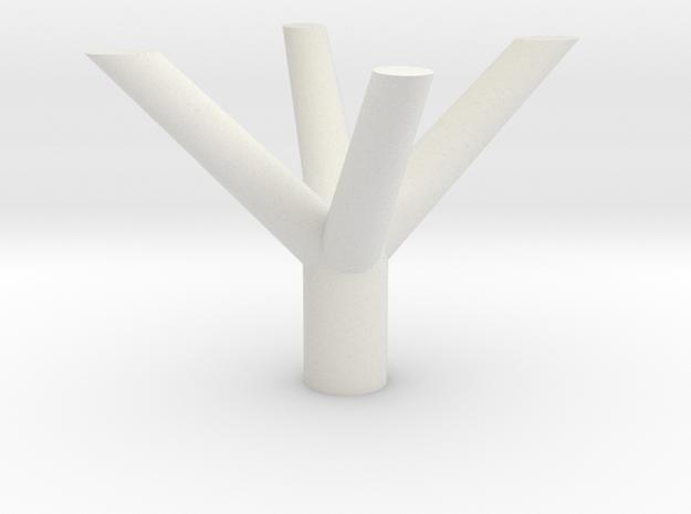 PILASTRO TRENTO in White Strong & Flexible