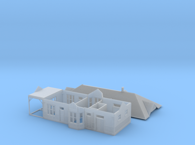 CNR Washago Depot (N-scale, 1:160) 3d printed