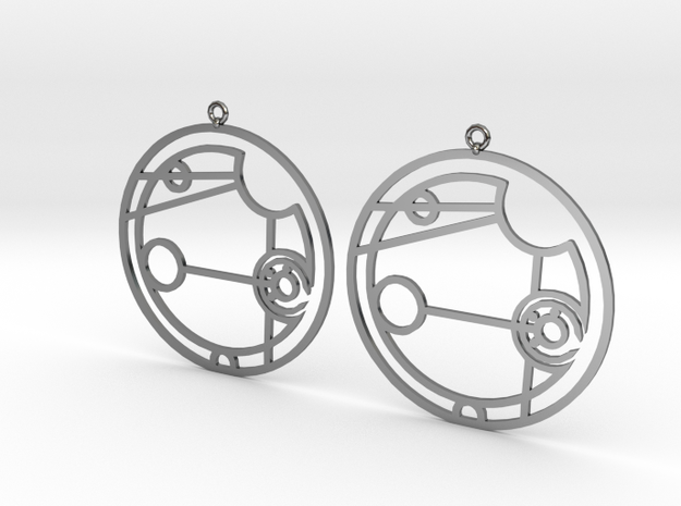 Addison - Earrings - Series 1 in Premium Silver