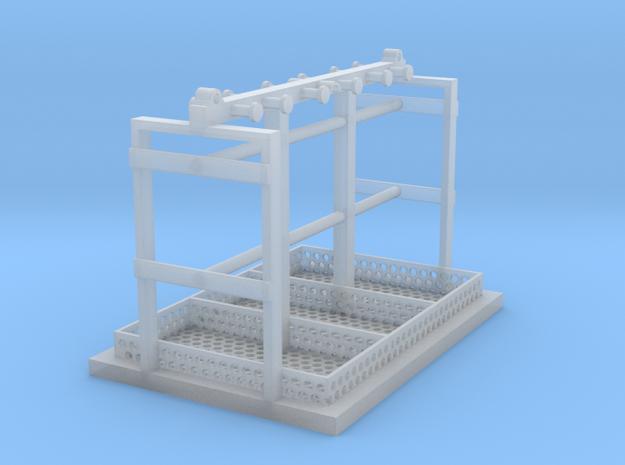 1/50 Schäkeltransportgestell in Smooth Fine Detail Plastic