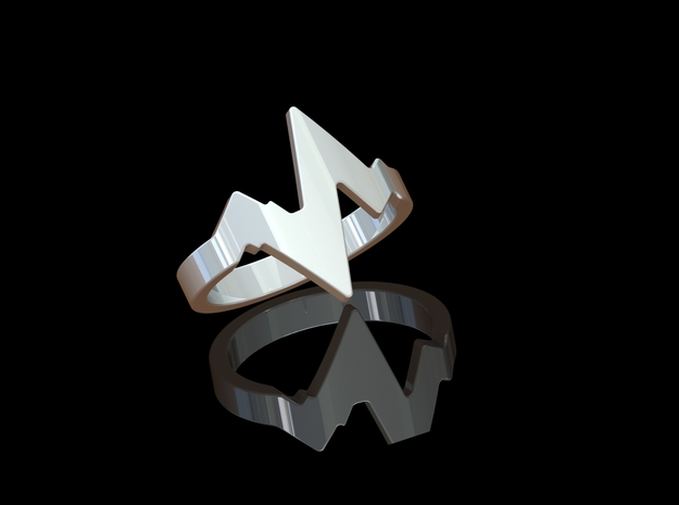'BEAT' - Ø 18 in Polished Silver
