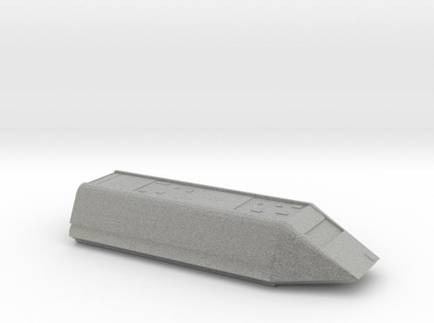 Shuttle 1/350 Scale in Metallic Plastic