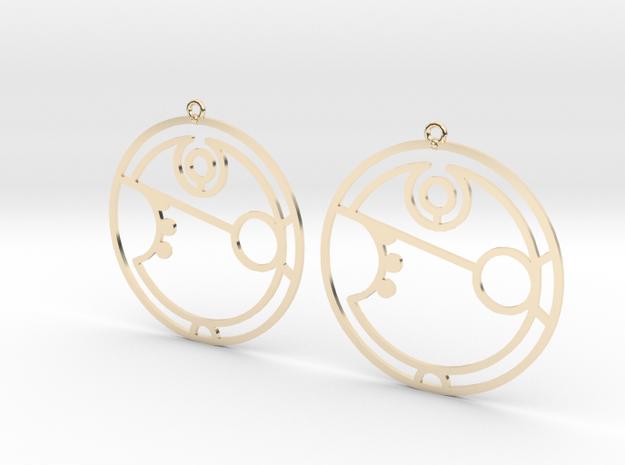 Amber - Earrings - Series 1 in 14K Gold