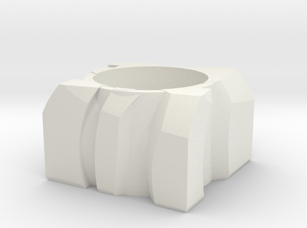 Transformer Planter in White Natural Versatile Plastic