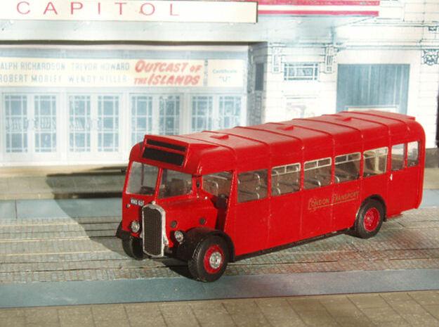 1:43 Bristol L5G ECW Bus  1946 in White Natural Versatile Plastic