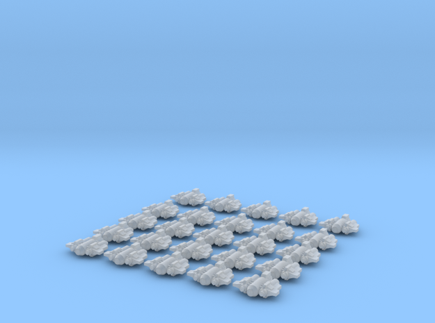 Heavy Fighers (25 models) in Smooth Fine Detail Plastic