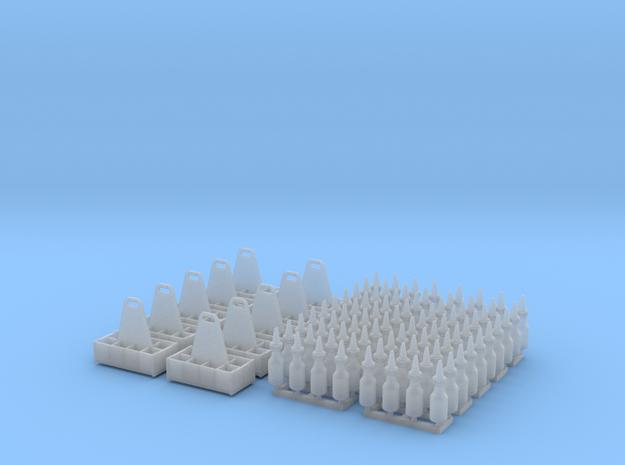 1:35 Quart Oil Bottles and Crates - 10ea