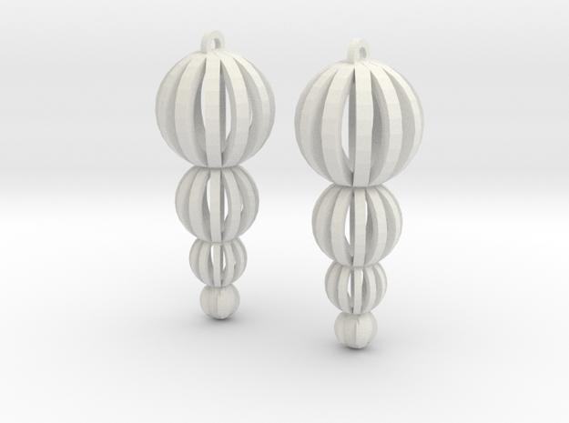 4 ball drop in White Natural Versatile Plastic
