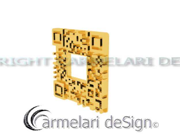qr cr 3d printed