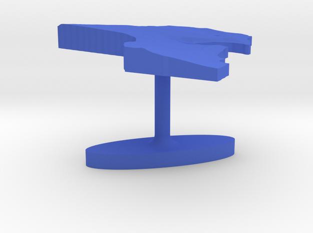 Kuwait Terrain Cufflink - Flat 3d printed