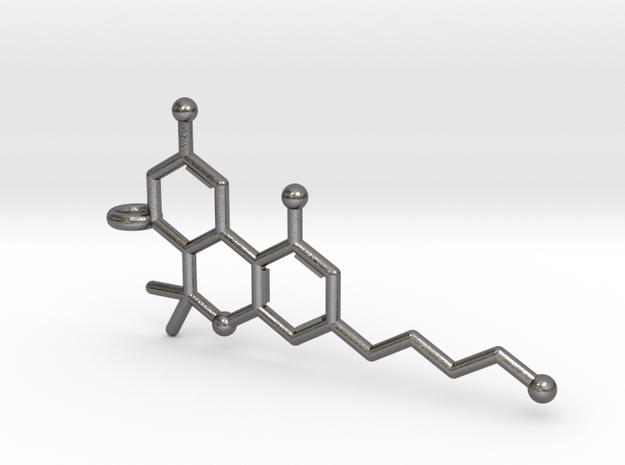THC Tetrahydrocannabinol Keychain