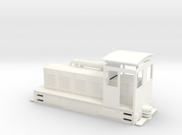 44 Ton Assembly NEM in White Processed Versatile Plastic