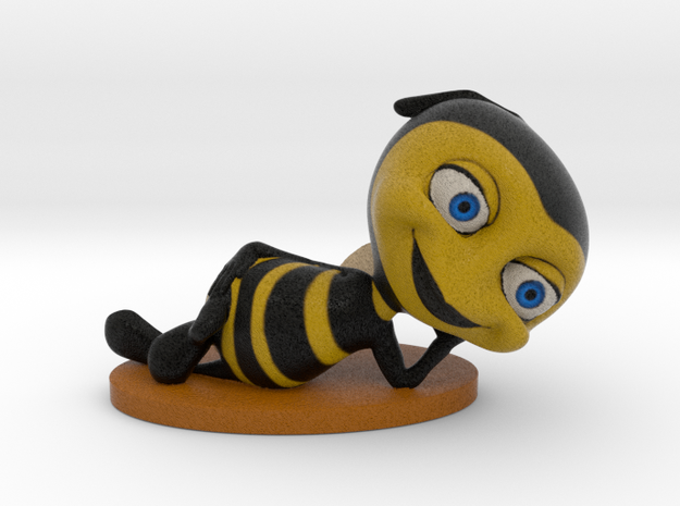 """Bee Yourself"" in Full Color Sandstone"