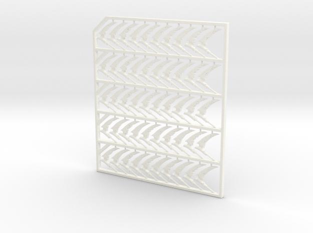 SCYTHEX50 in White Processed Versatile Plastic