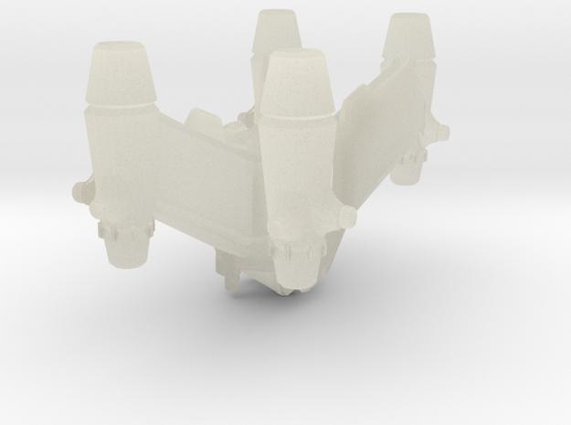1/2500 B5 EA Starfury :-) 3d printed