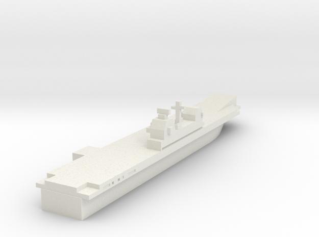 Generic, Tarawa Like, with ski jump. in White Natural Versatile Plastic