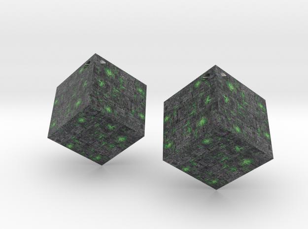 Borg Cube in Full Color Sandstone
